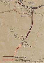 塔里木油田的天然气管道