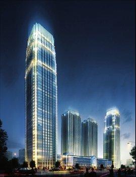东莞台商大厦一楼电梯照片