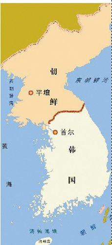 朝鲜地图矢量图