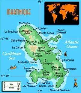 西印度群岛东南部马提尼克岛(法)首府