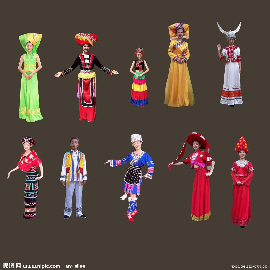 中国少数民族的各种风俗
