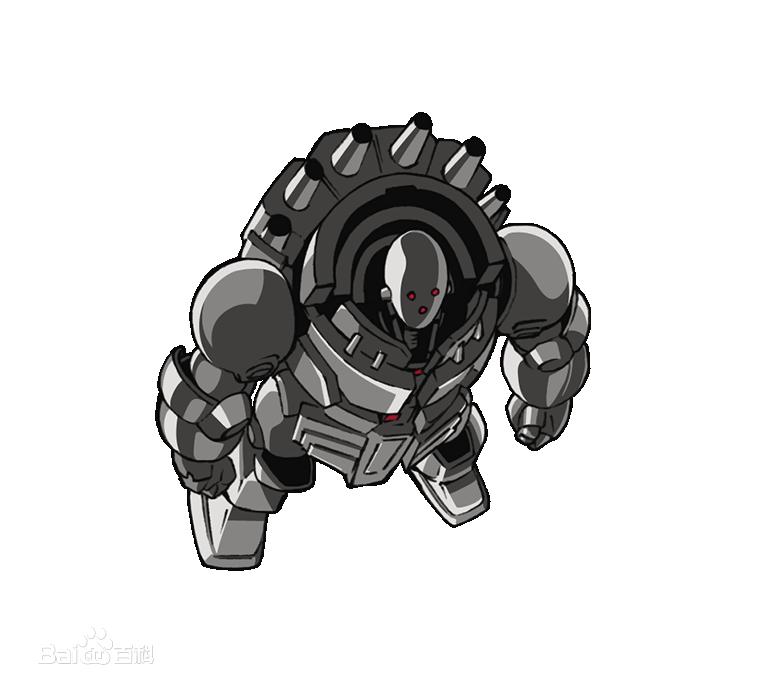 机器超人简笔画