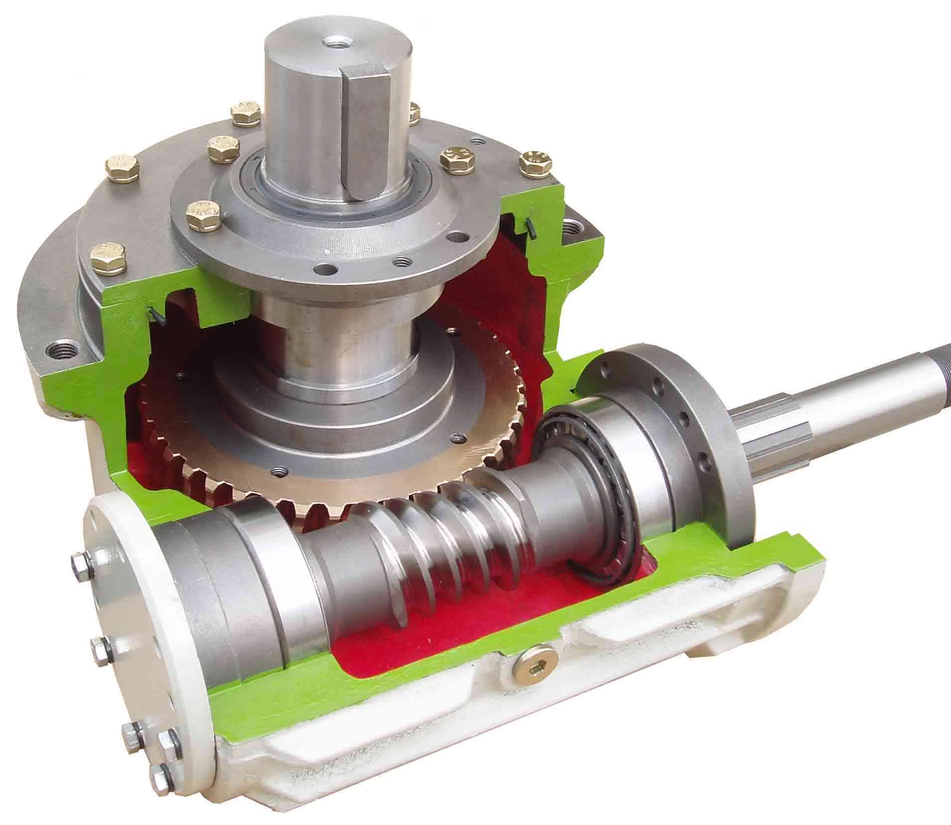 圆柱齿轮减速机结构图