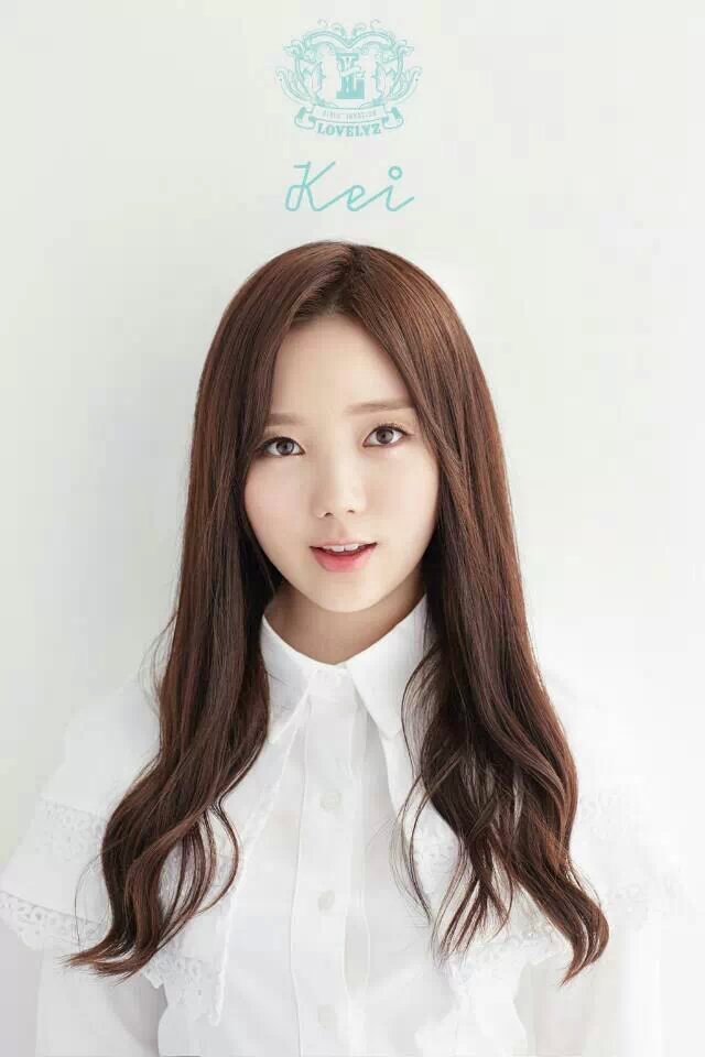 艺名:kei 本名:金智妍