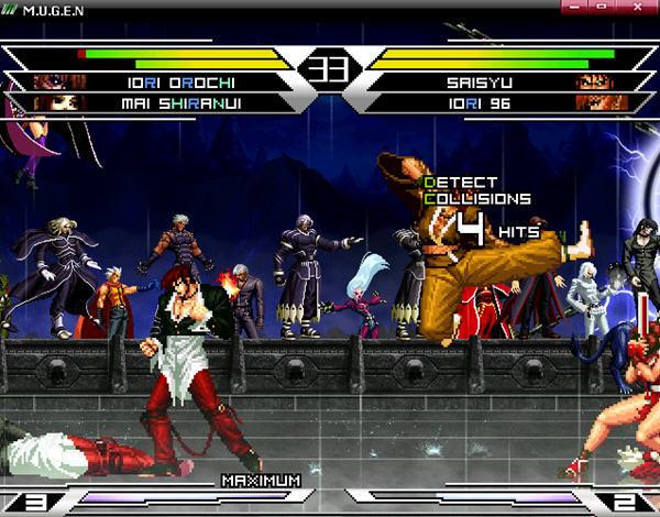 求一个对打游戏的名字类似拳皇,里面就三个角色可以选择,两男一女图片