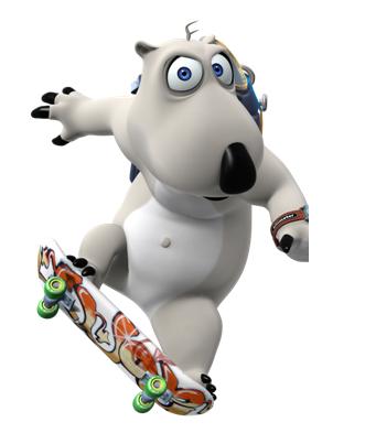 《倒霉熊》是一部从韩国引进的幽默搞笑动画片