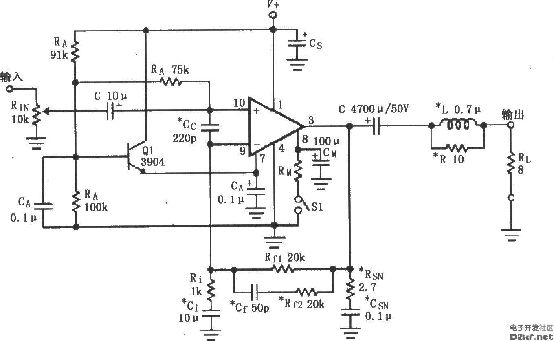 第4章讲解了集成电路前置放大器