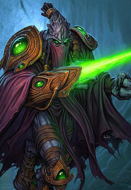 塔萨达尔心中的偏见,是他让横亘在星灵宗族与黑暗