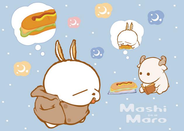 《mashimaro和森林故事》flash动画讲述流氓兔与其伙伴在森林里的生活