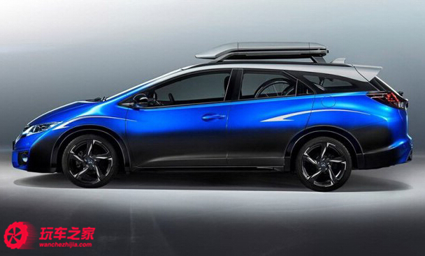 本田发布思域旅行衍生新概念车
