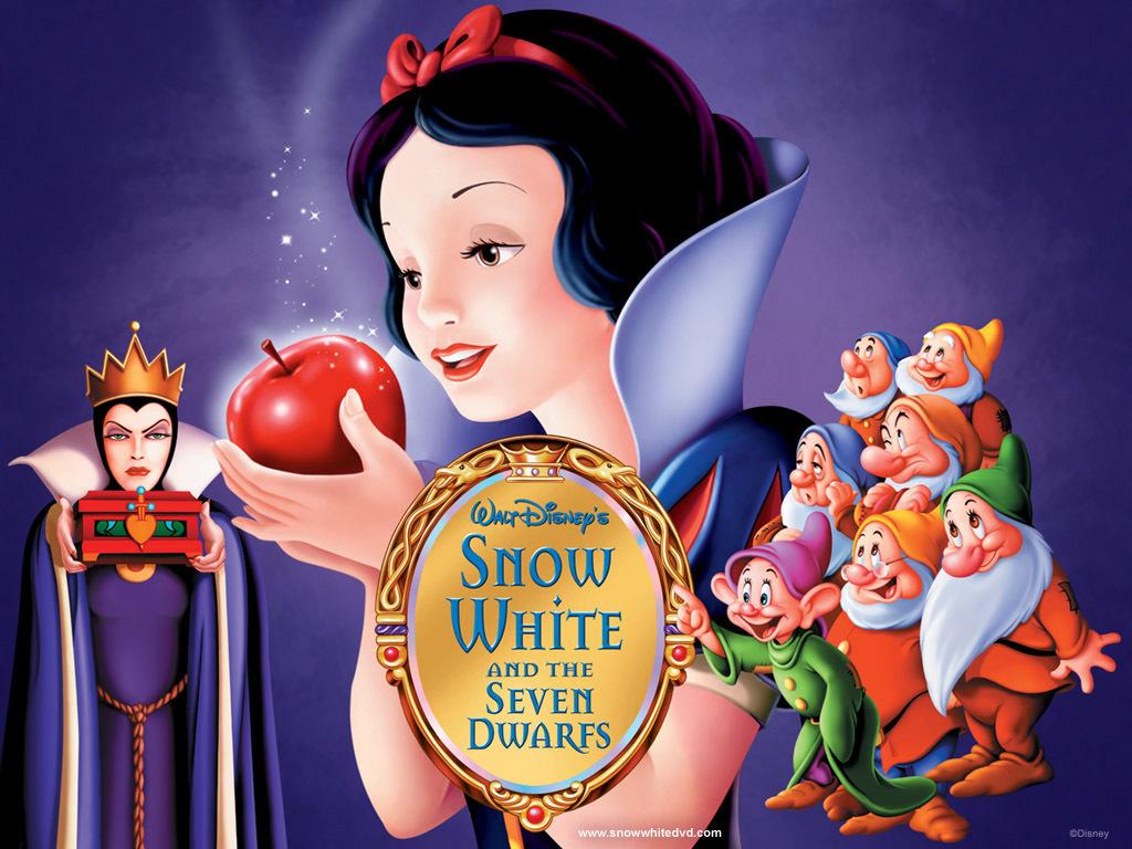 七个小矮人在动物们的猜到白雪公主有危险后