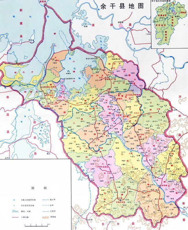 中埠镇地图