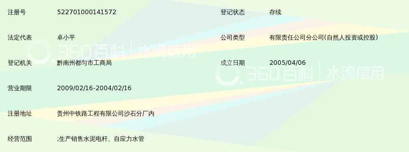 重庆市垫江电力股份有限公司都匀分公司