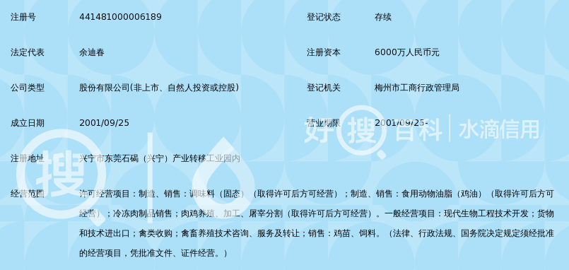 广东富农生物科技股份有限公司