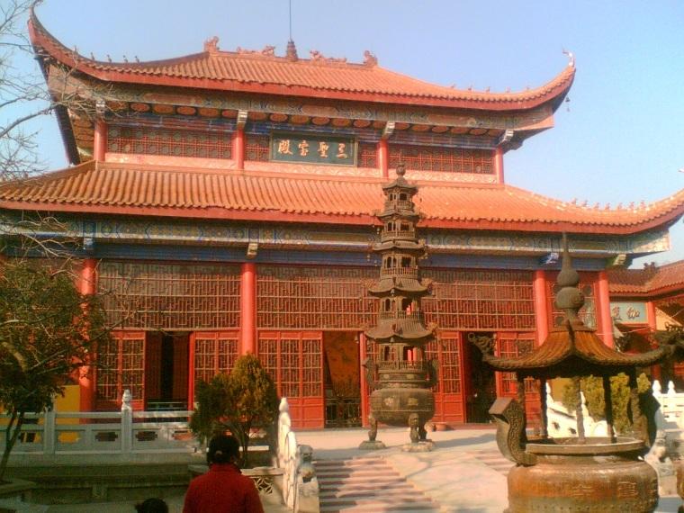 寺庙的建筑平面设计图