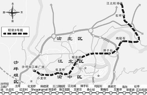 重庆轨道交通9号线