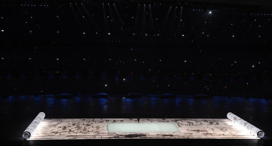 北京2008年奥运会开幕式图片
