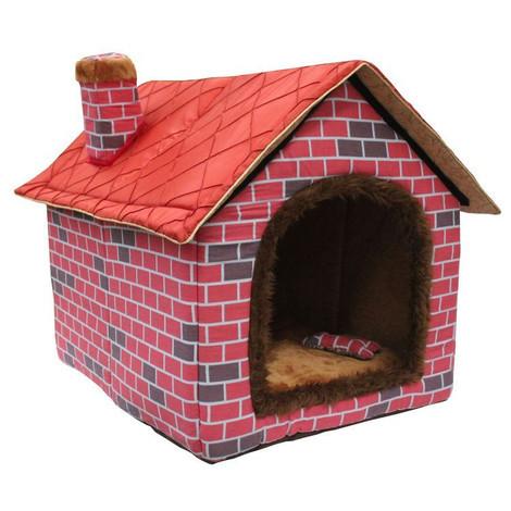 木制狗窝 木材作为一种永恒的建材