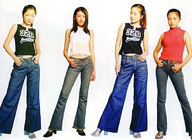 时装裤子设计手绘图