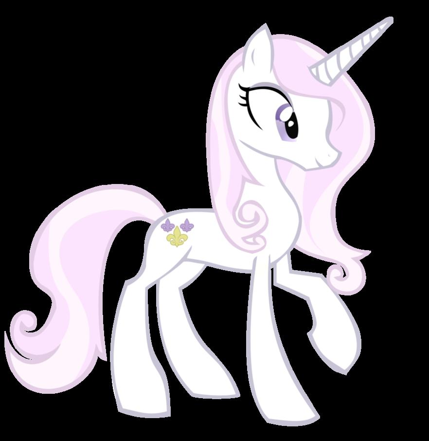 呆萌可爱的公主小马图片