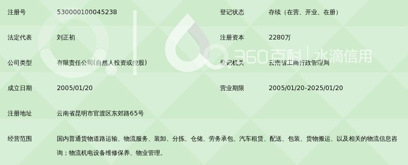 云南快达航空物流有限公司_360百科