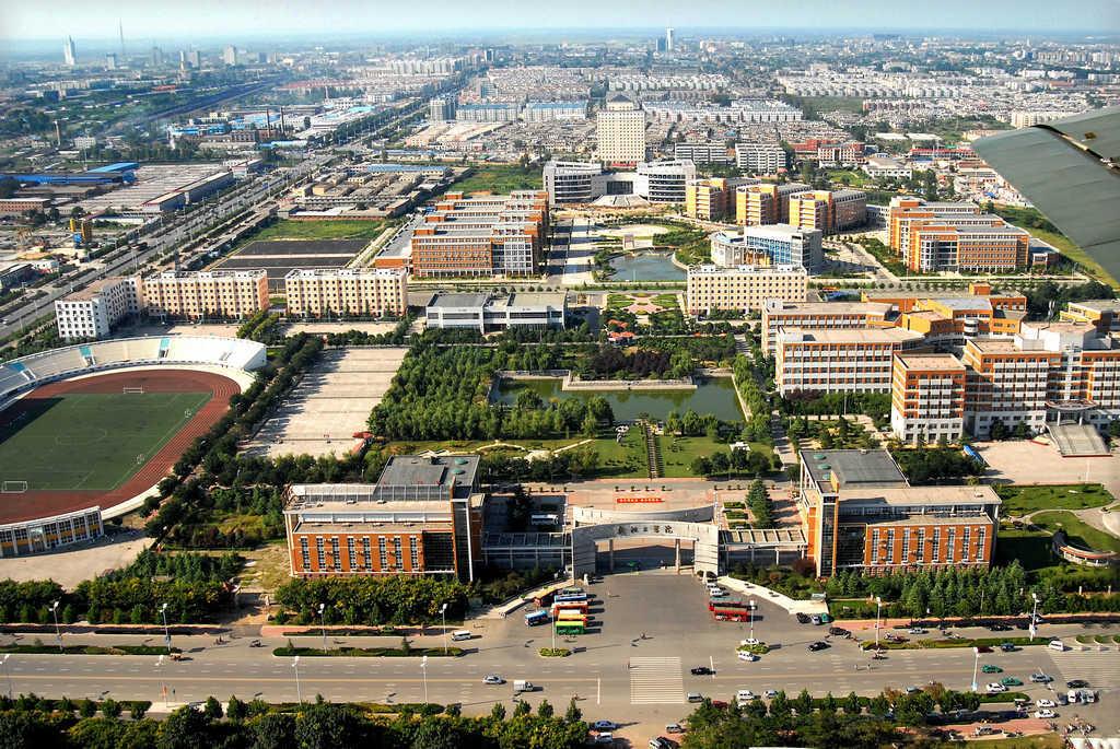安阳学院校区平面图