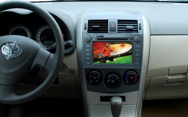 卡罗拉车载dvd导航仪,是根据丰田卡罗拉这款车型单独