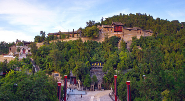 折叠 编辑本段 简介 名称 药王山风景区 海拔 1000米 别称 五台山 山
